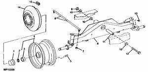 My 1995 Deere Stx38 Riding Mower Quit Steering  I Noticed
