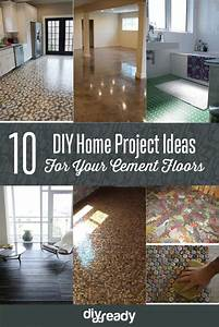 10, Diy, Home, Project, Ideas, For, Your, Cement, Floors
