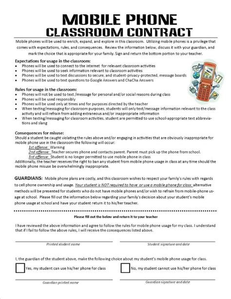 why do cell phones get using mobile phones in the classroom a classroom contract