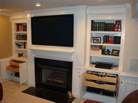 base cabinets for built ins full extension roll out trays for dvd storage two trays