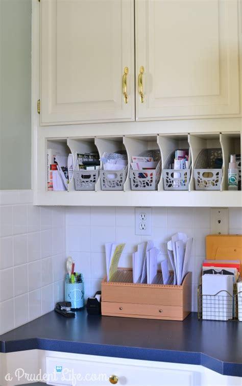 Organizing A Kitchen Office  Polished Habitat