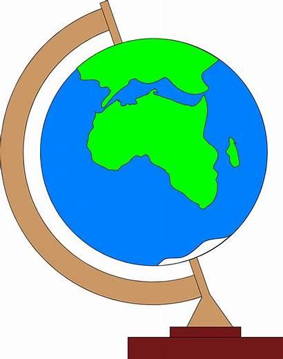 Globe Africa Illustration Showing