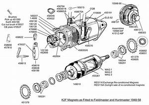 K2f Fitted To Kg  Kh  U0026 Fh 1948-58