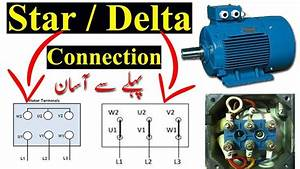Star Delta Connection In Urdu