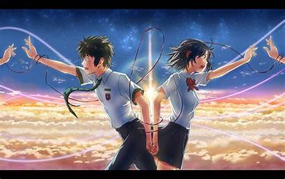 Anime Kimi Mitsuha Wa Taki Miyamizu Tachibana