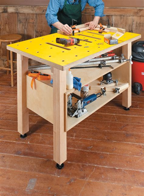assembly table woodworking project woodsmith plans