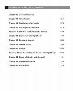 Hibbeler Dynamics Solution Manual 13th