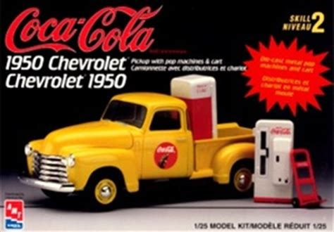 1950 chevy with diecast coke machines 1 25 fs