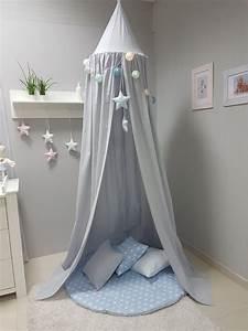 Zelt Bett Kinder : babymajawelt betthimmel baldachin grau xxl stars ~ Michelbontemps.com Haus und Dekorationen