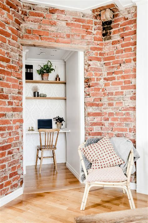 Exposed Brick, Distressed Wood, And Modern Concepts