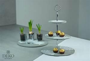 Etagere Selber Machen : diy coole etagere aus beton gie en deko kitchen ~ Udekor.club Haus und Dekorationen