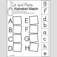 Alphabet Match Worksheet For Fall Madebyteachers