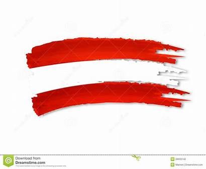 Flag Austrian Drawing Drawn Illustration Clipart Hand