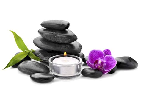 signature aromatherapy hot stone  deep tissue