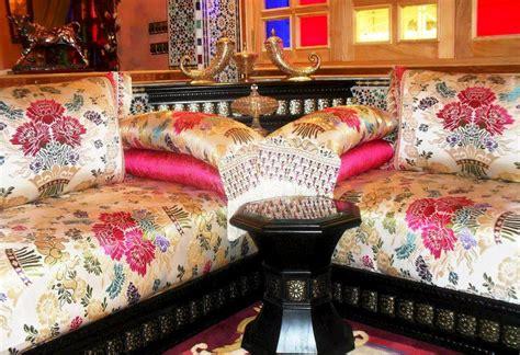 tissu pour canapé marocain sedari pour salon marocain salon marocain déco