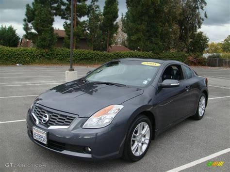 2008 Dark Slate Metallic Nissan Altima 3.5 Se Coupe