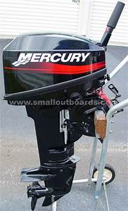 Used Mercury 9 9 Hp 15 Hp 20 Hp And 25 Hp Outboard Motor
