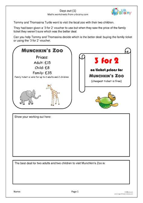 days   reasoningproblem solving maths worksheets