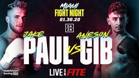 jake paul  gib    boxing