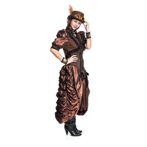 lustige kostüme damen steunk kost 252 m kleid deluxe f 252 r damen sehr hochwertig