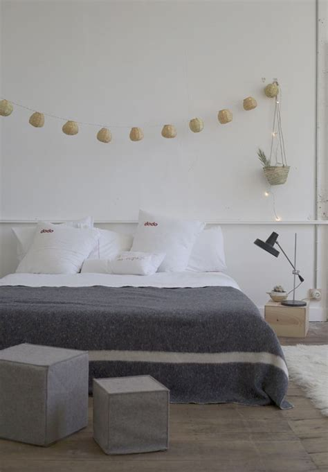 decoration chambre blanche inspiration en vrac le gris cocon de décoration le