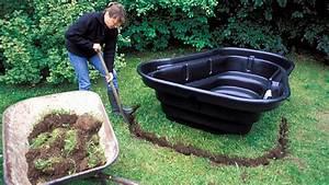 Kleiner Gartenteich Anlegen : kleinen gartenteich anlegen wasser im garten bauen und ~ Michelbontemps.com Haus und Dekorationen