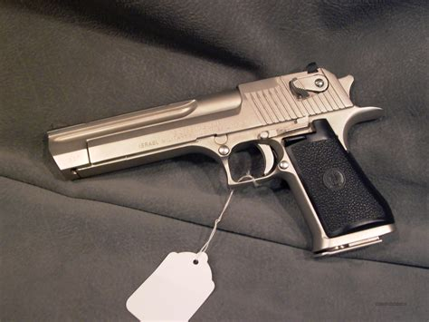 Imi Desert Eagle Xix 357mag Nickel For Sale