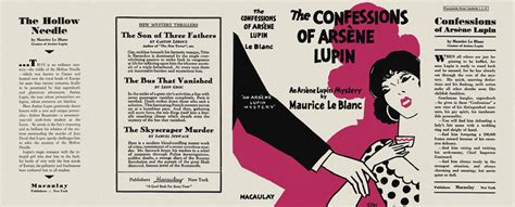 Confessions Of Arsene Lupin, The