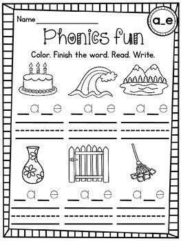 Cvce Words Differentiated Worksheets By Miss Giraffe Tpt