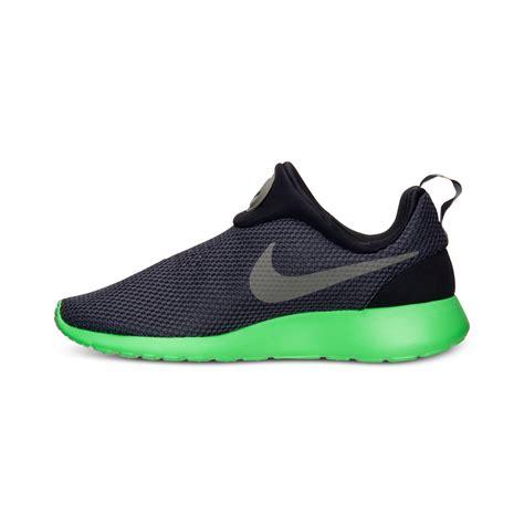 Nike Mens Roshe Run Slip On Casual Sneakers From Finish