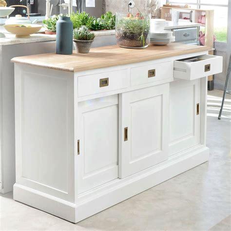 buffet rangement cuisine console meuble topiwall