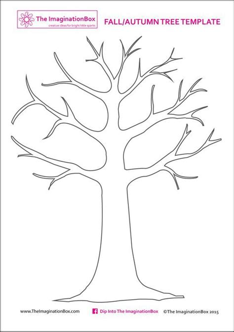 Tree Template Print This Free Tree Template From The Imaginationbox To