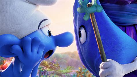 smurfs  lost village hefty smurf wallpapers hd