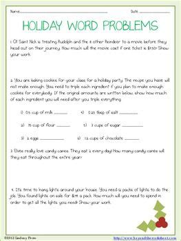 page worksheet   decimal operation holiday