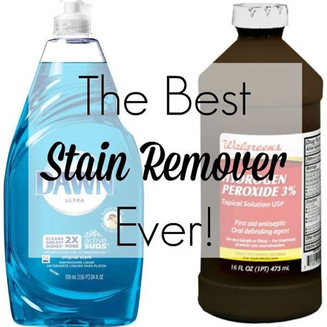 the best stain remover for any fabric even silk