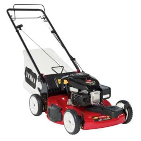 toro recycler 22 in low wheel variable speed front wheel drive self propelled gas lawn mower