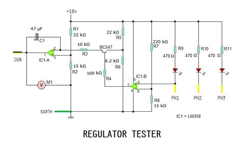 Regulator Rectifier Tester