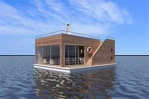 Haus Im Wasser : schwimmendes haus floating 50 kaufen und mieten wohnen auf dem wasser ~ Watch28wear.com Haus und Dekorationen