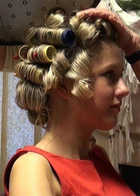 pin  scott  vintage beauty parlor hair rollers hair