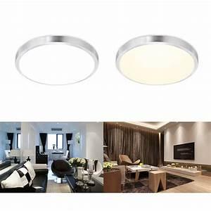 Deckenlampe Küche Led : 12w 15w led deckenleuchte lampe deckenlampe wandlampe k che 30cm energiespar ebay ~ Orissabook.com Haus und Dekorationen