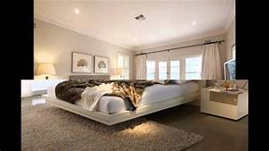 Modern, Bedroom, Design, Idea, With, Carpet, U0026, Balcony