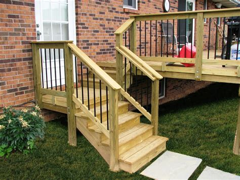 Backyard Exterior Stair Railings