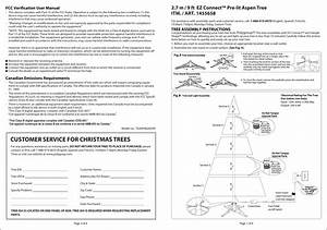 Polygroup Cw004 Christmas Tree Lighting User Manual