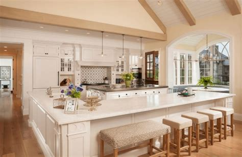 Kitchen Island With Built In Seating   Home Design, Garden