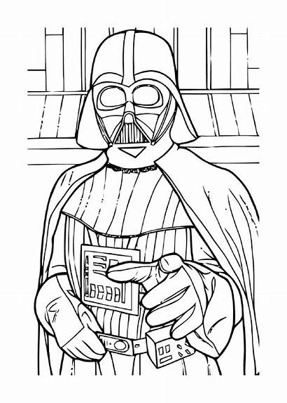 Wars Coloring Star Pages Children Few Movies