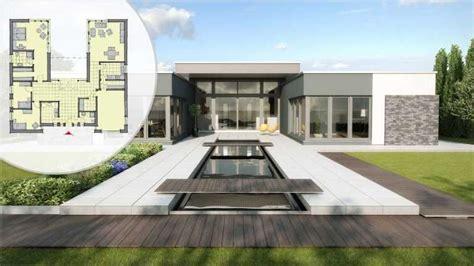 Moderne Häuser Ebenerdig by Bungalow Bauen Anbieter Preise Grundrisse Im