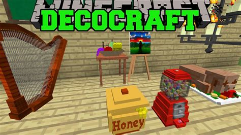 minecraft decocraft mod epic house decorations