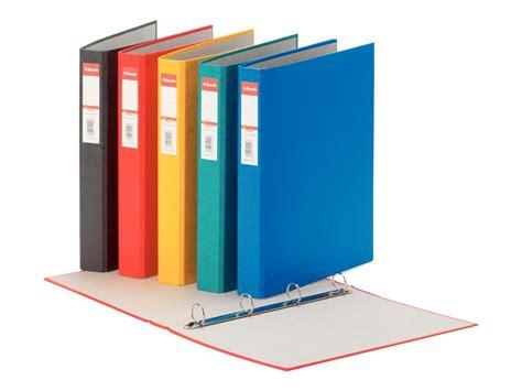 classeurs de bureau esselte rainbow classeur à anneaux a4 dos 40 classeurs