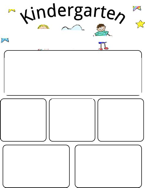 free preschool newsletter templates newsletter kindergarten newsletter template