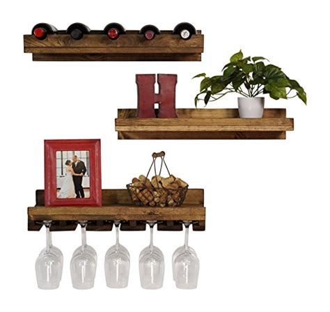 floating wine glass shelf compare price to floating shelves wine glass 7241